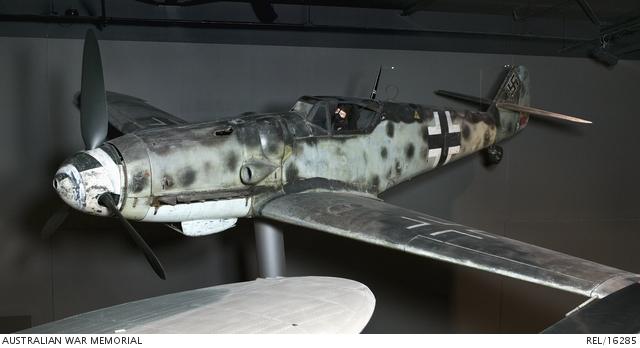 Messerschmitt Bf 109G-6 fighter aircraft : German Air Force   The