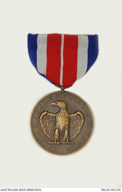 united states certificate of merit medal