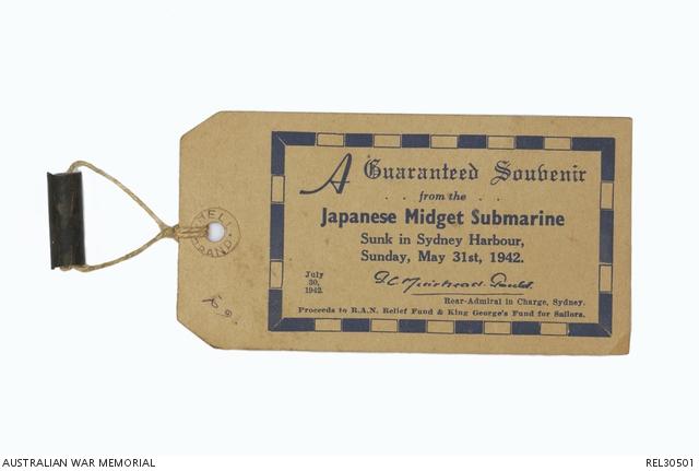 Japanese midget submarines in sydney harbour