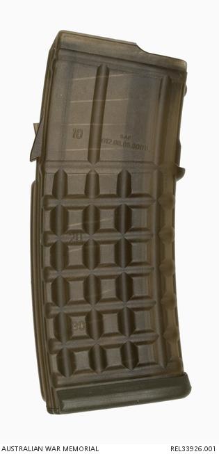 1a8ebd05967 F88 Steyr rifle magazine   Corporal A A Rutledge