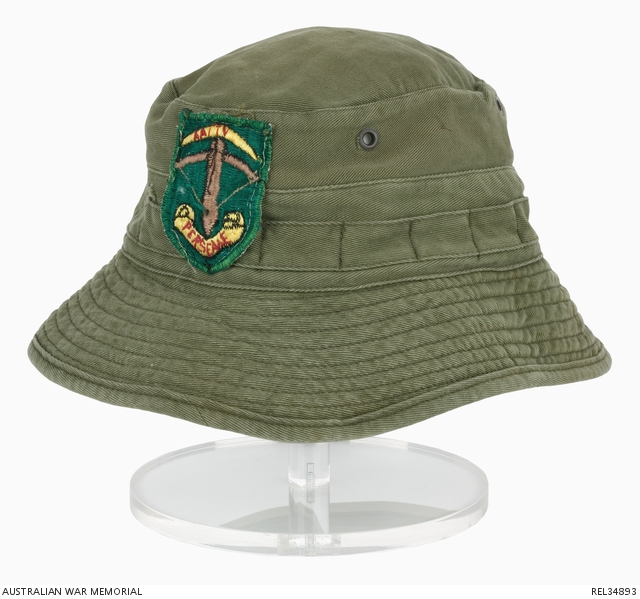 Bush Hat with AATTV Patch  Corporal G A Hazel 9e2f4e7b690