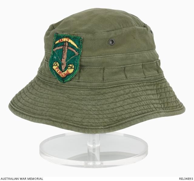 dc449863f2a Bush Hat with AATTV Patch  Corporal G A Hazel