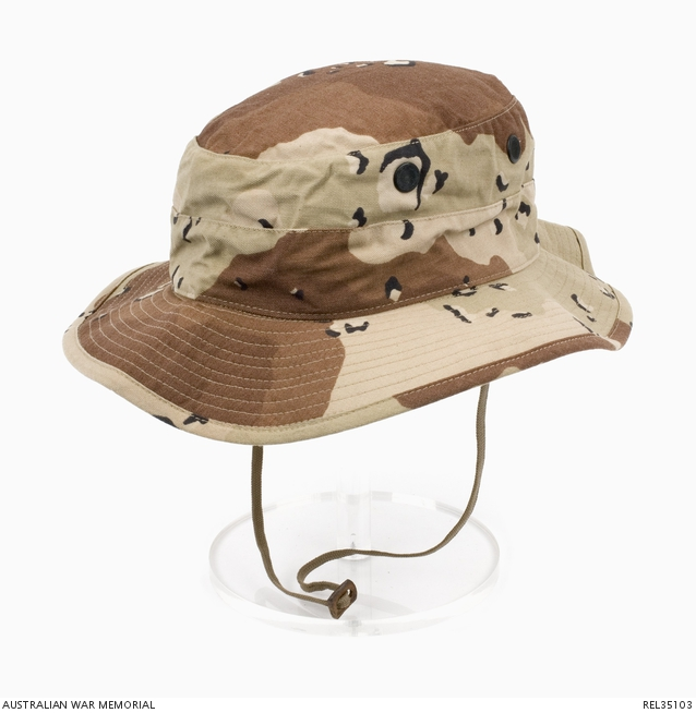 b7904d3922deb US DBDU boonie hat   Chief Petty Officer Signals Yeoman D J Perryman ...