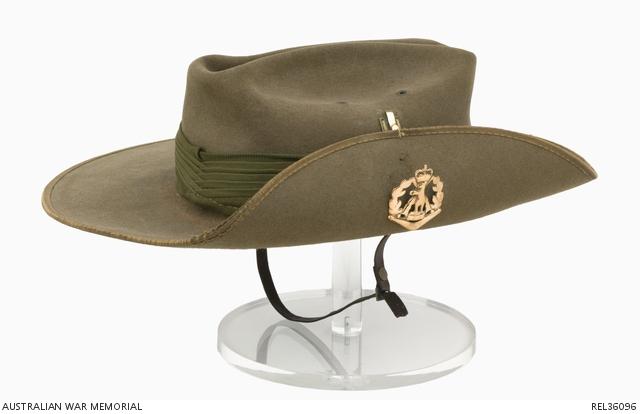 Slouch Hat   Staff Sergeant T J Langford 075cff599