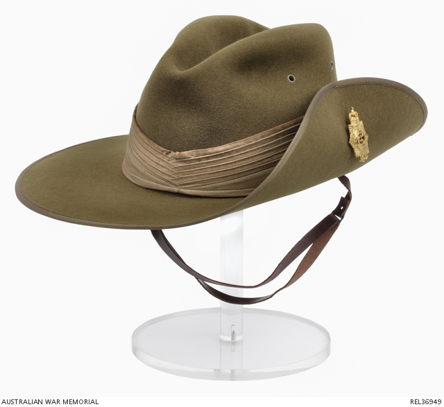 1681a83cc Slouch hat : Colonel V G Bulteau, Royal Australian Army Medical ...