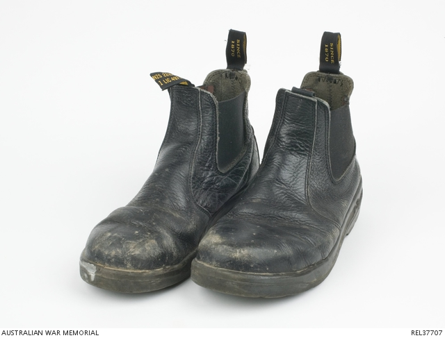 Blundstone Officer Boots Of Eades Pair Black S Hmas Petty Chief qtROwEdYn