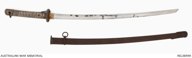 Japanese Army NCO's shin-gunto sword and scabbard : Major