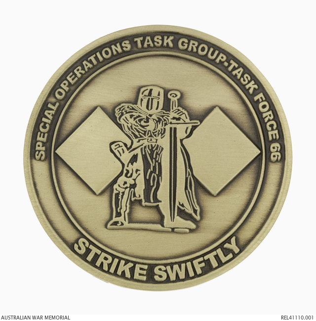 Challenge Coin: Special Operations Task Force 66 | The Australian