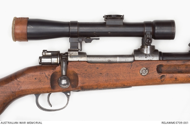 Mauser Model G98 Sniper Rifle : German Army | The Australian War