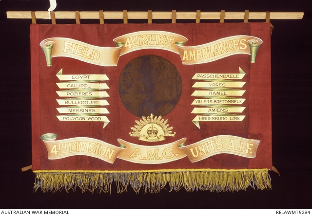 4th Division Field Ambulance banner