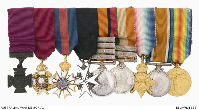 Nine miniature medals: Maj Gen Sir Neville Howse, VC | The