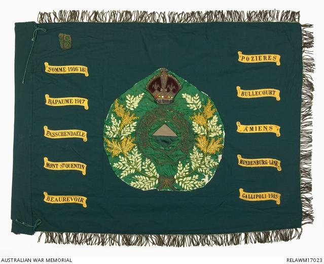 Regimental Colour of the 19th Infantry Battalion