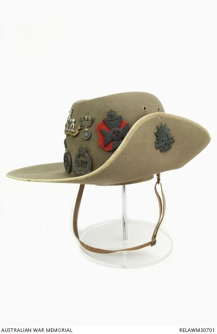Australian Army slouch hat   Lieutenant General B L Montgomery ... 14d2b3469