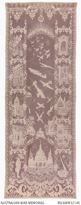 Battle of Britain lace panel