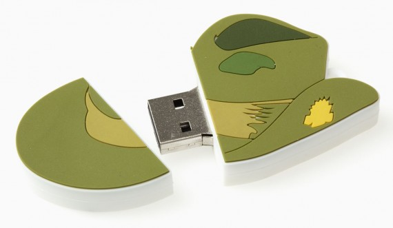 Slouch hat USB flash drive