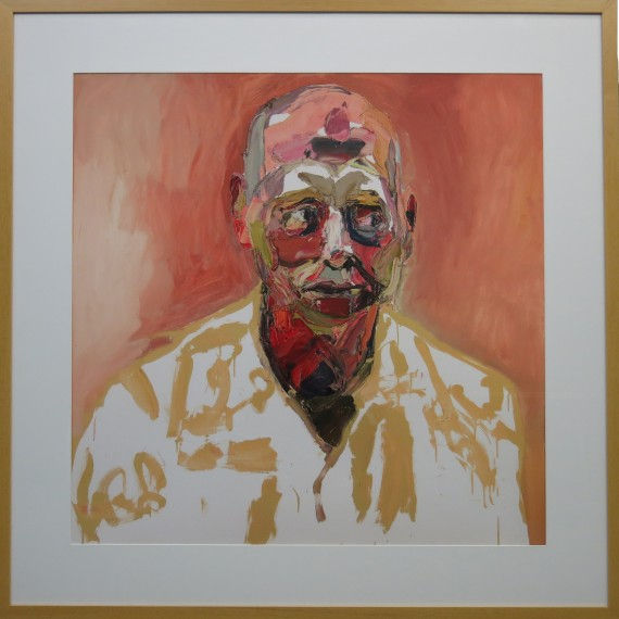 Ben Quilty limited edition print: Air Commodore John Oddie, after Afghanistan, no.1