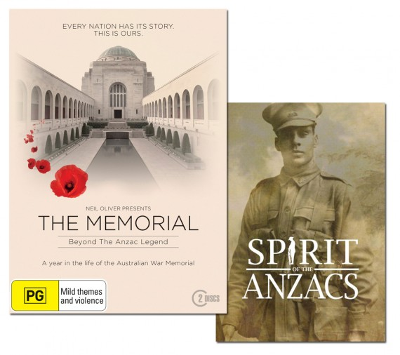 The Memorial: beyond the Anzac legend (with bonus DVD)