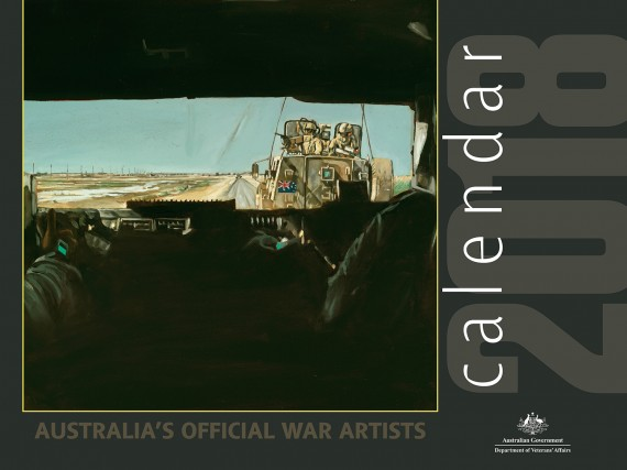 Calendar: Australia's official war artists 2018