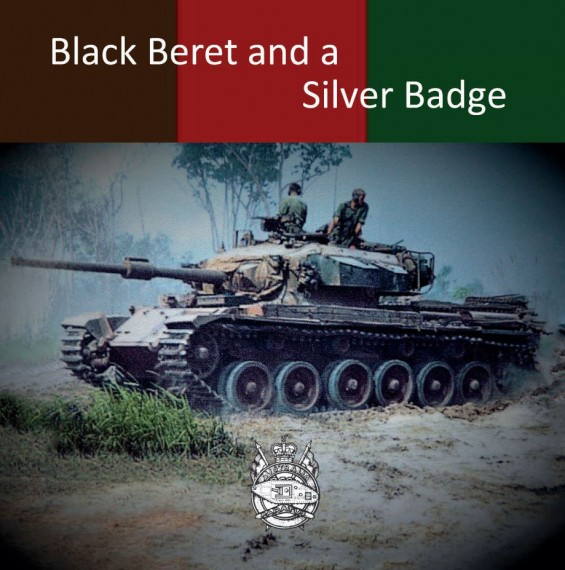 Black Beret and a silver badge [CD]
