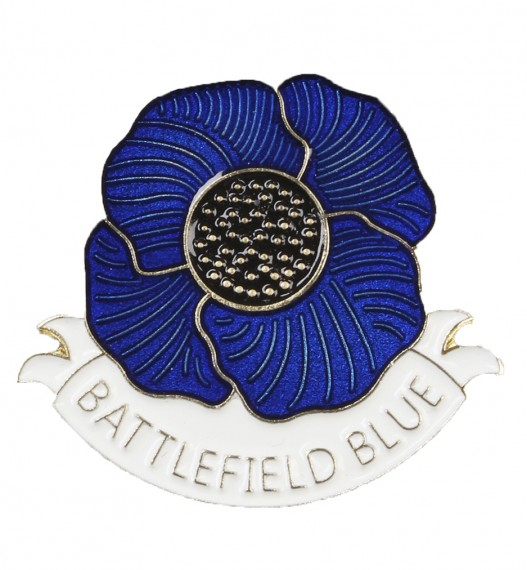 Battlefield Blue: poppy lapel pin [small]