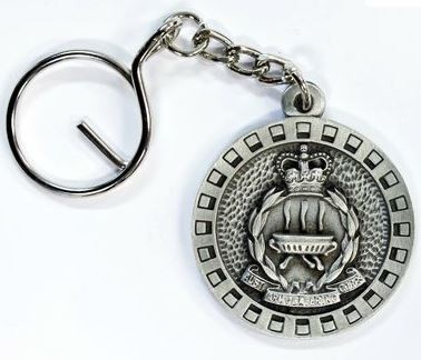 Catering Corps pewter keyring