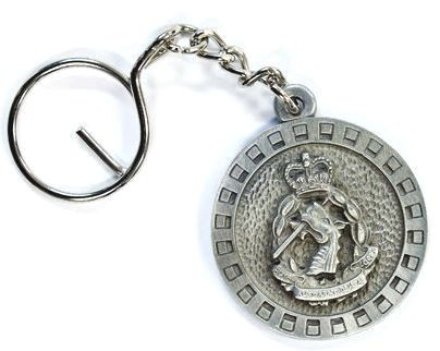 Dental Corps pewter keyring