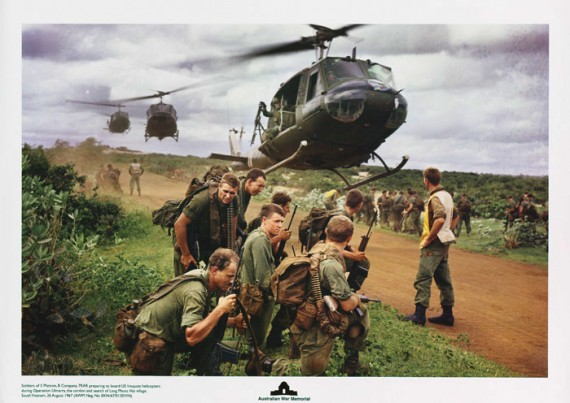 Soldiers of 5 Platoon, 7 RAR Poster
