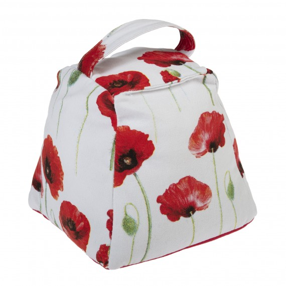 Door stop: poppies collection