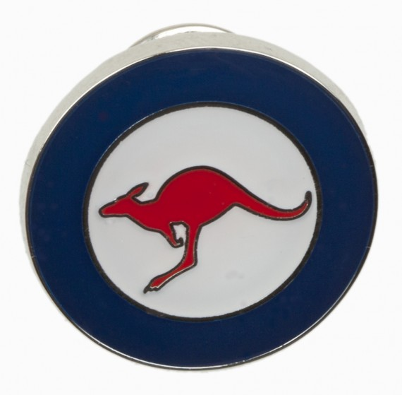 Lapel pin: Royal Australian Air Force Roundel