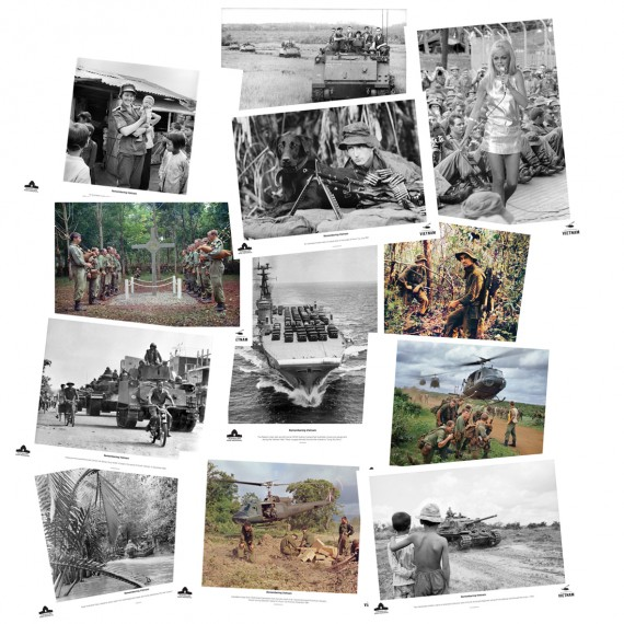Remembering Vietnam: set of 12 posters