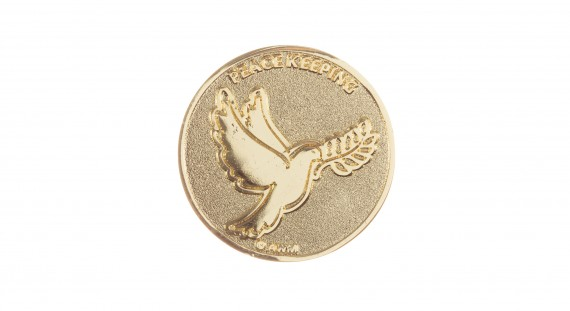 Commemorative coin: Peacekeeping