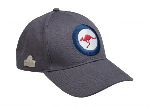 Cap: Royal Australian Air Force rondel