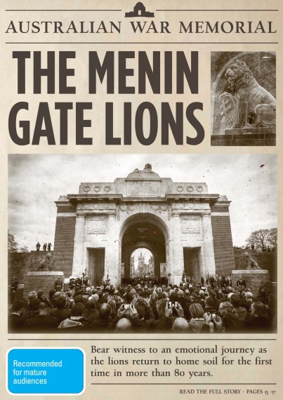 The Menin Gate lions (DVD)