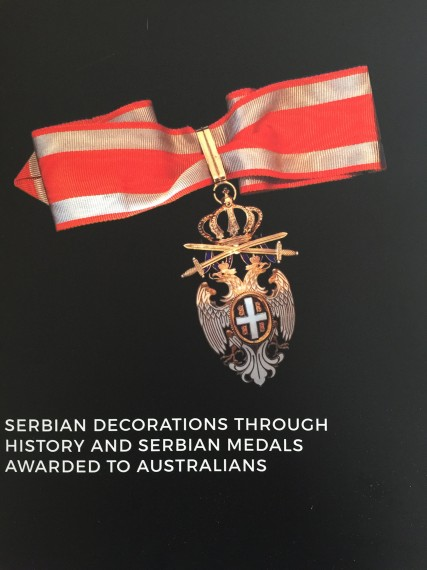 Serbian decorations through history and Serbian medals awarded to Australians