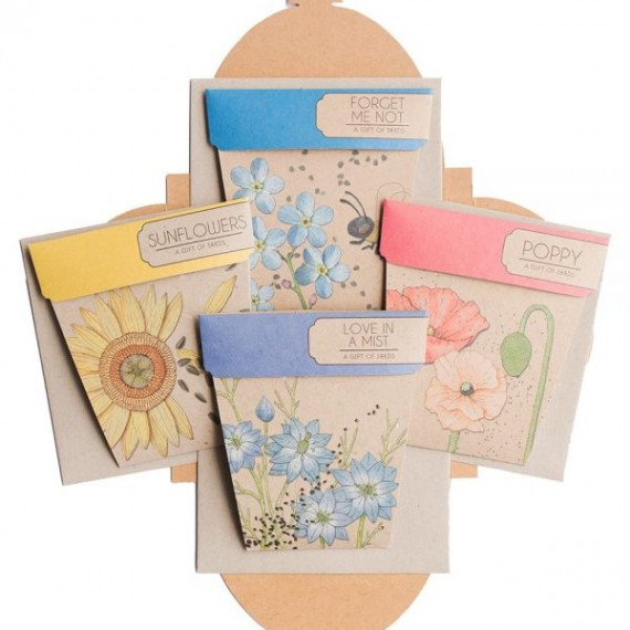A Gift of Seeds: Flower seed gift set