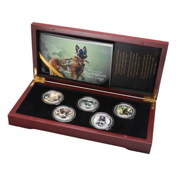 Australian war dogs bullion set