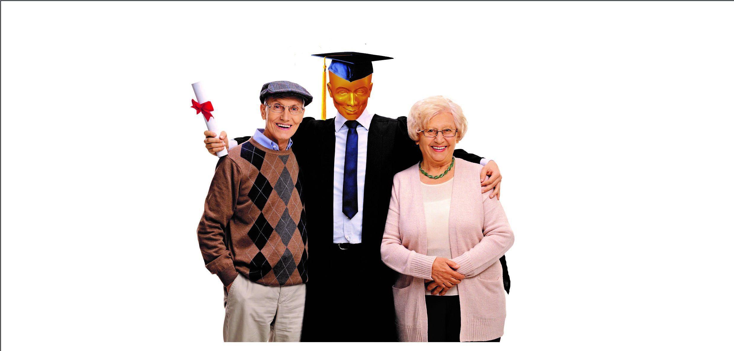 Plastic Pete Graduates