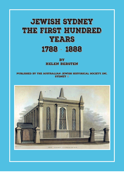 Jewish Sydney the first hundred years
