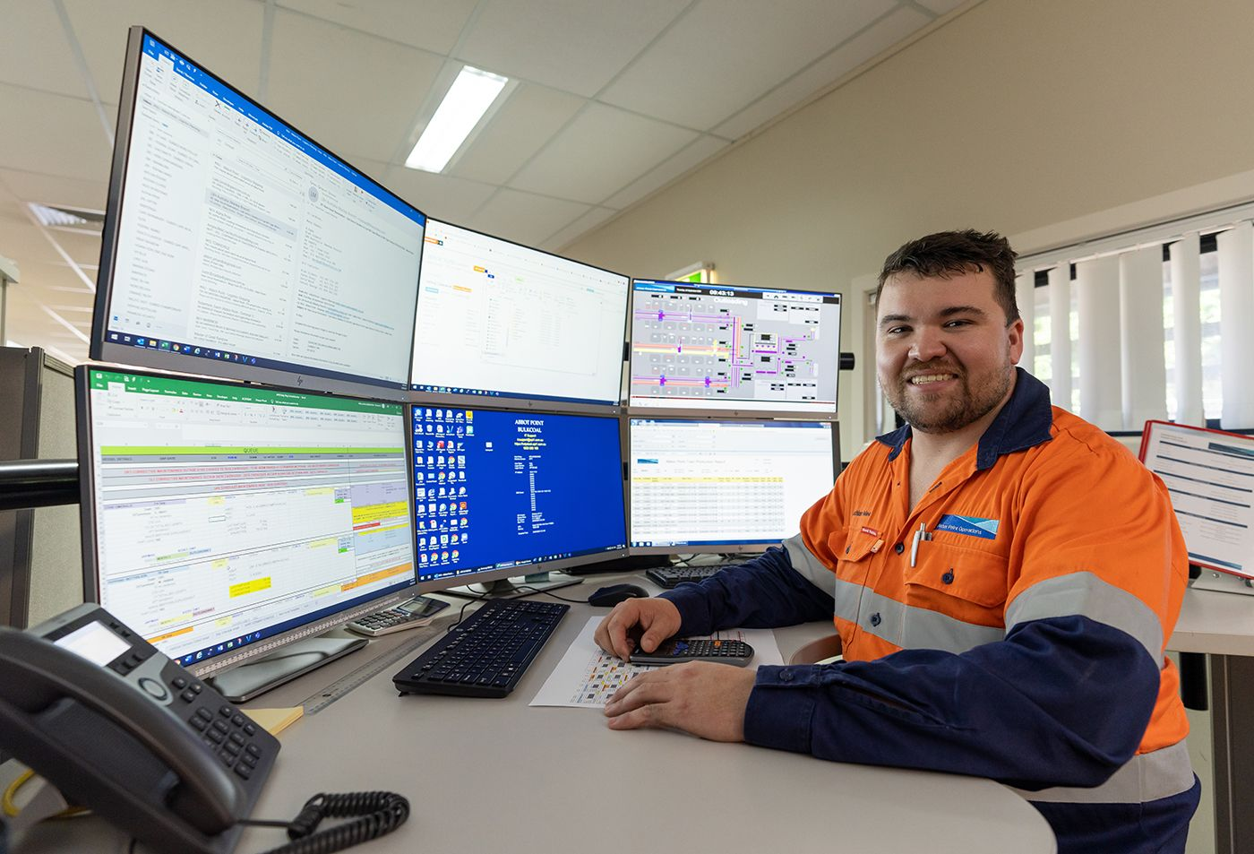 Whitsunday local Lachlan Mee has seen his career grow and flourish through opportunities at Abbot Point Operations.