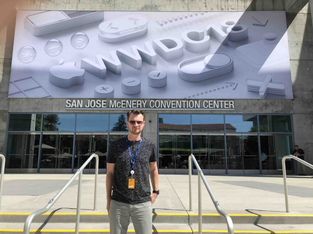 Dan at WWDC 2018