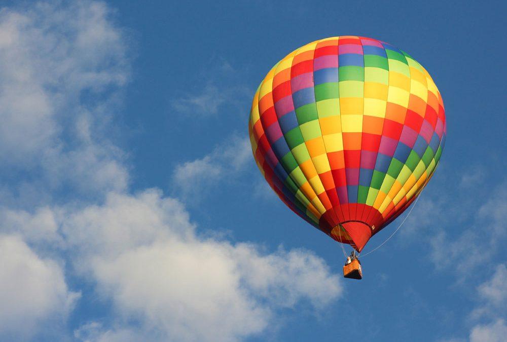cremation - hot air balloon