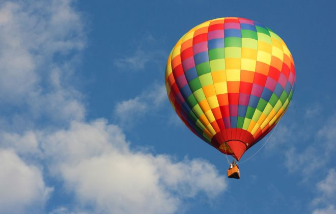 cremation - hot air balloon