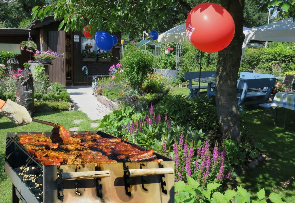 managing grief by planning a backyard memorial celebration