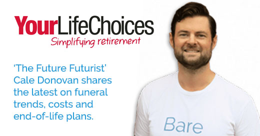 Bare Cremation co-founderCale Donovan shares funeral trends and COVID impacts in his Your Life Choices article