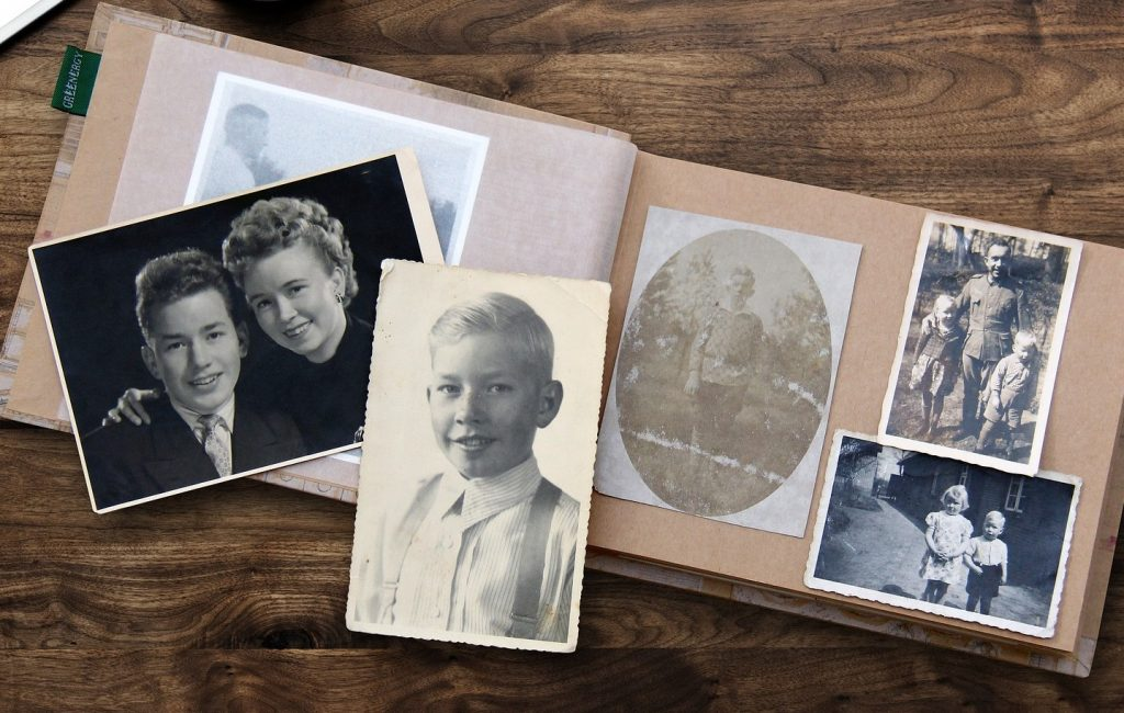 To help prepare your family for writing your eulogy someday, you might like to share the story of your life as a photo book or scrapbook, which can be passed on to your grandkids.