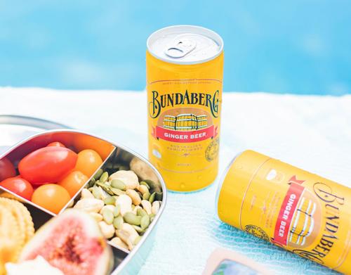 Bundaberg Ginger Beer Cans