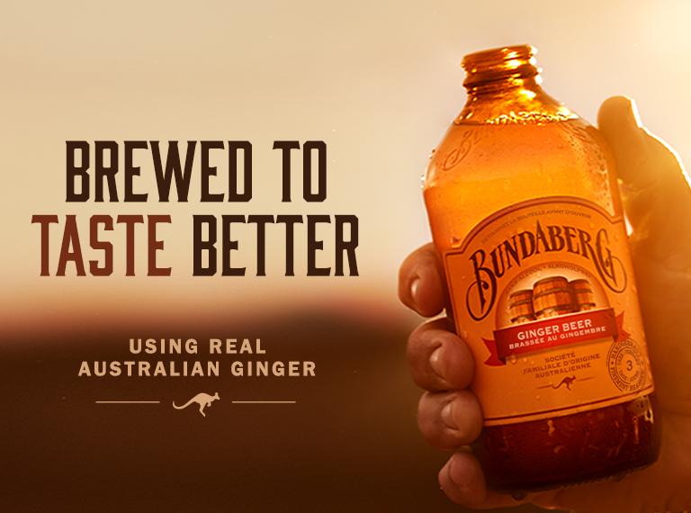 Bundaberg Ginger Beer - Brewed to taste better France