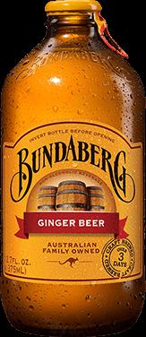 Australian Ginger Beer Bundaberg Brewed Drinks