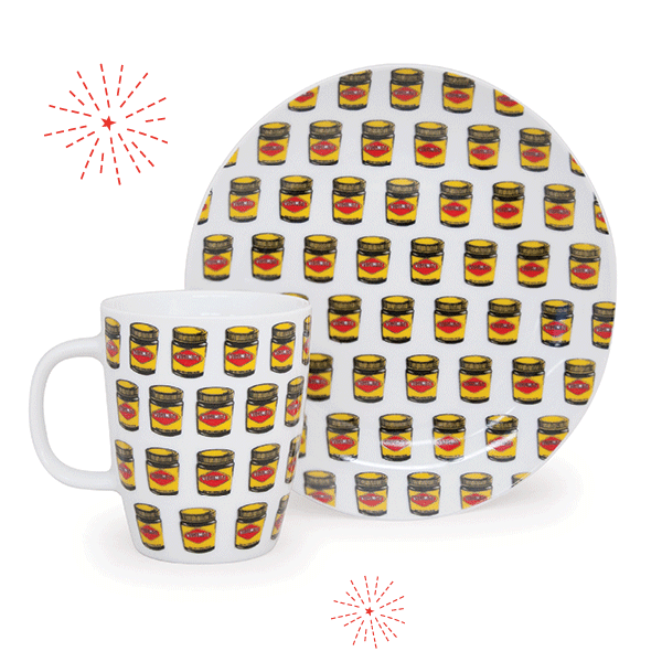 VEGEMITE 2 Piece Breakfast Set