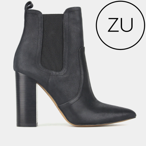 VIXEN High Ankle Leather Boots